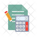 Calculations Budget Accounting Icon