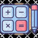 Calculations Calculator Pencil Icon