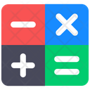 Calculations Maths Accounting Icon