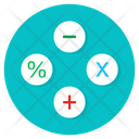 Calculations Maths Arithmetic Icon