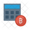 Accounting Calculator Machine Icon