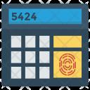 Calculator Finger Scanner Icon
