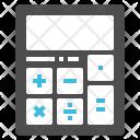 Calculator Math Education Icon