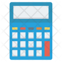 Calculating Calculator Machine Icon