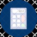 Calculator Business Design Icon