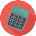 Calculator Electronic Adding Icon