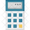 Calculator Math Calculating Icon