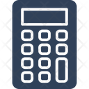 Adding Machine Calculation Calculator Icon