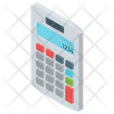Mathematical Tool Calculator Calculating Device Icon