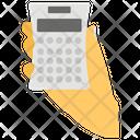Calculator Adding Machine Number Cruncher Icon