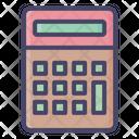 Calculator Math Device Icon
