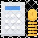 Calculator Calculation Coin Icon
