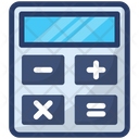 Calculation Calculator Number Cruncher Icon