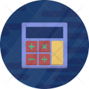 Calculator Math Banking Icon