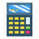 Calc Calculation Calculating Device Icon
