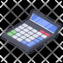 Calculator Mathematics Business Icon