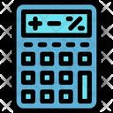 Calculator Mathematical Device Calculating Device Icon