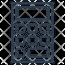 Calculator Tool Math Icon