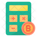 Calculator Money Bitcoin Cryptocurrency Calculator Bitcoin Icon