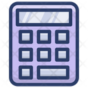 Calculator Adding Device Number Cruncher Icon