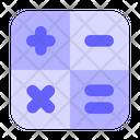 Calculator Calculation Math Icon