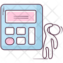 Calculator Estimator Accounting Machine Icon