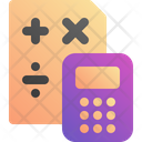 Calculator Count Math Icon