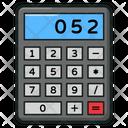 Calculator Adding Machine Taxation Icon