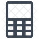Budget Calculator Business Icon