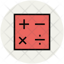 Calculator Keys Mathematical Icon