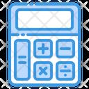Calculation Calculator Education Icon