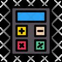 Calculator Accounting Mathematics Icon