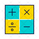 Math Operation Calculation Icon