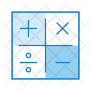 Math Operation Calculation Icon