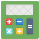 Business Calculator Financial Icon