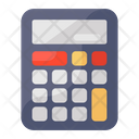 Calculator Adding Machine Taxation Icon
