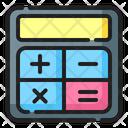 Calculator Accounting Finance Icon