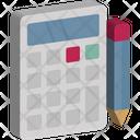 Budget Calculator Electronic Icon