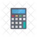 Calculator Stationary Education Icon