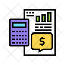 Calculator Counting Investment Icon