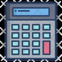 Calculator Calculating Device Math Icon