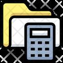 Calculator Folder Data Icon