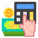Accounting Calculator Currency Icon
