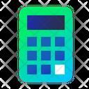 Calculator Maths School Icon