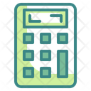 Calculator Financial Numbers Icon