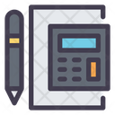 Calculator Accounting Ledger Icon