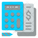 Calculator Money Accounting Icon