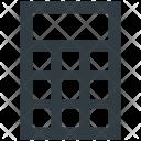 Calculator Calculating Device Icon