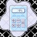 Banking Calculator Money Icon