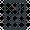 Calculator Electronic Financial Icon